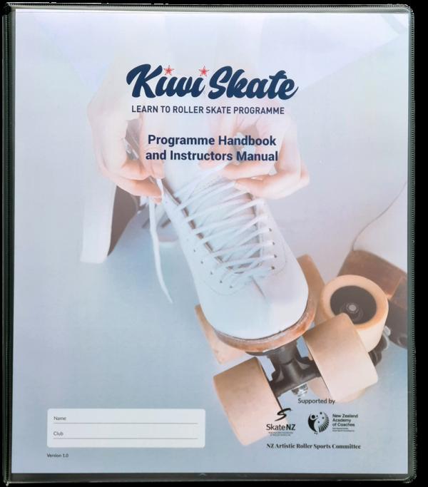 Kiwi Skate learn to roller skate Instructors Manual
