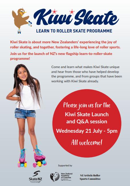 Kiwi Skate – Learn to Skate Programme Launch